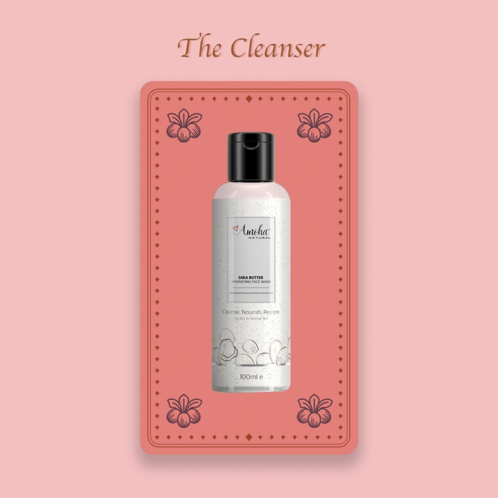 Natural face cleanser by Amoha Natural