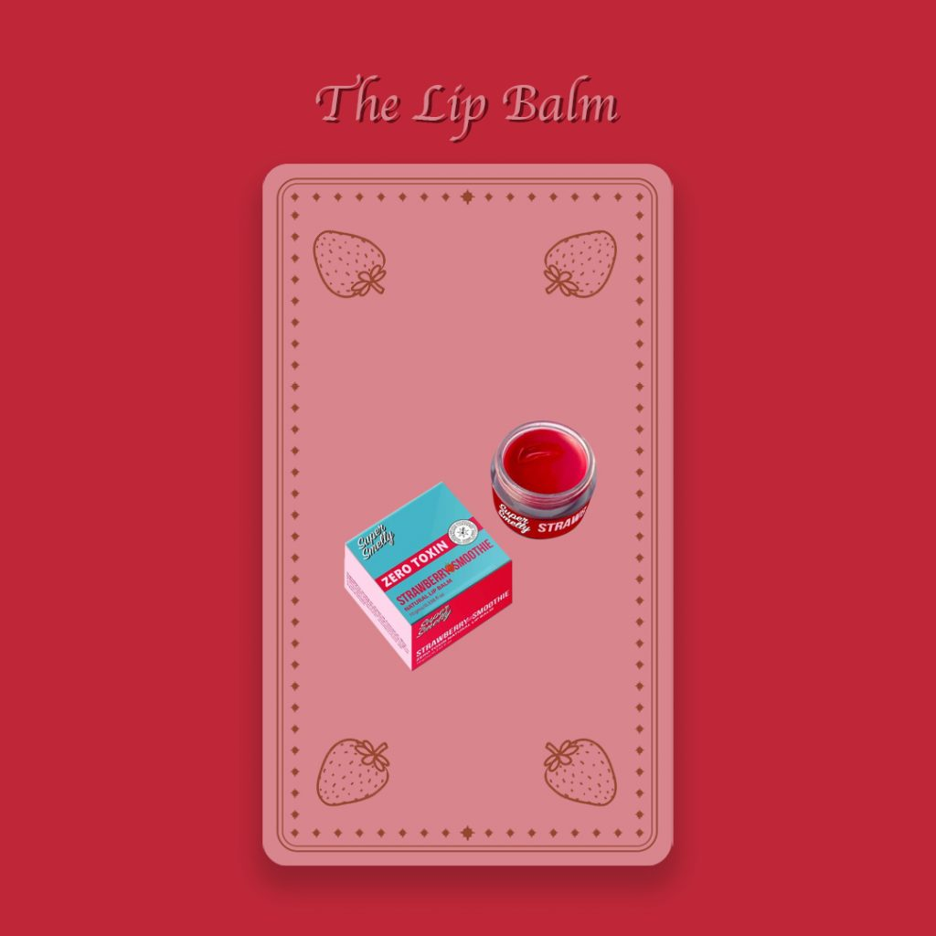 Toxin free lip balm by Super Smelly