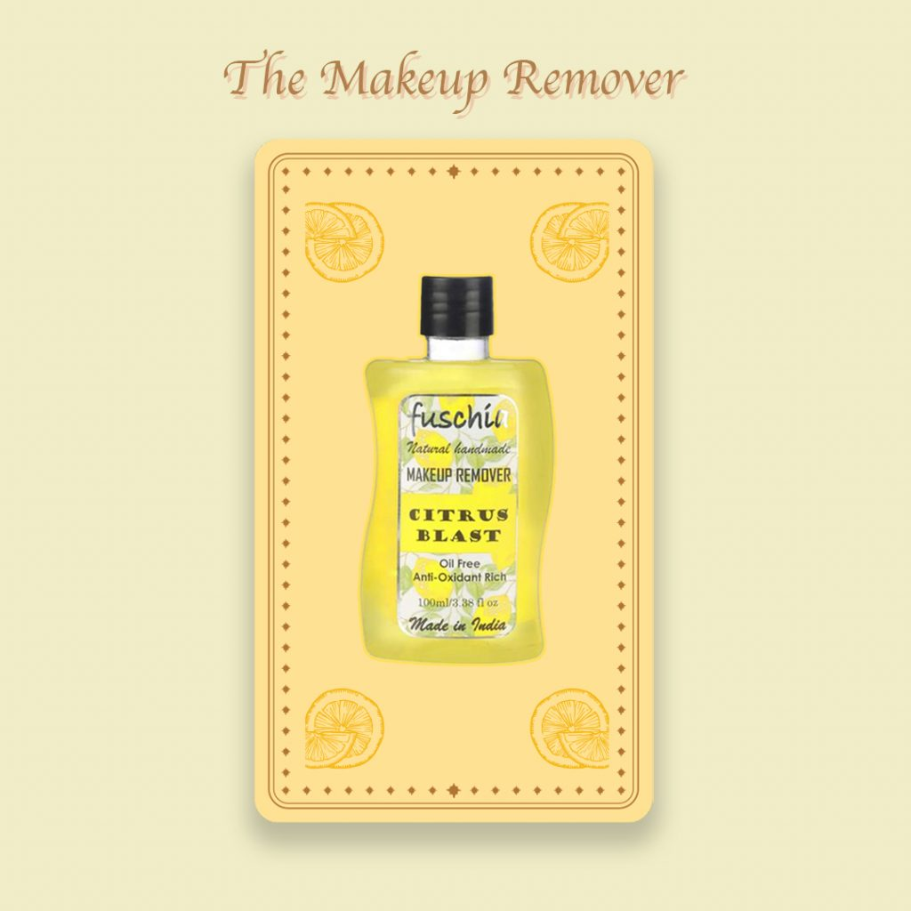 Natural makeup remover by Fuschia