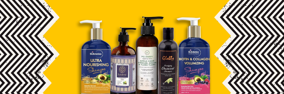 5 best selling shampoos on Woovly