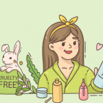 Vegan skincare products on Woovly