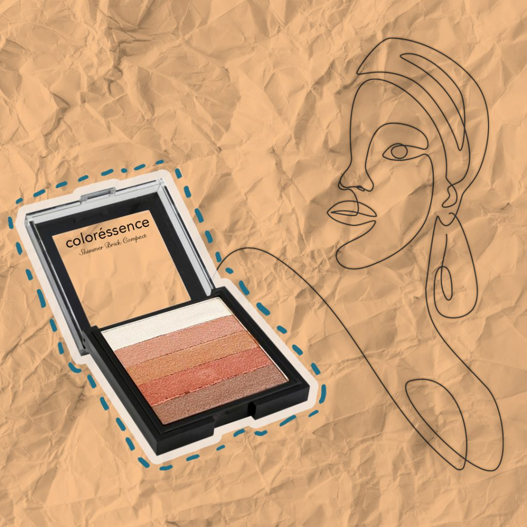 5 palette bronzer by Coloressence