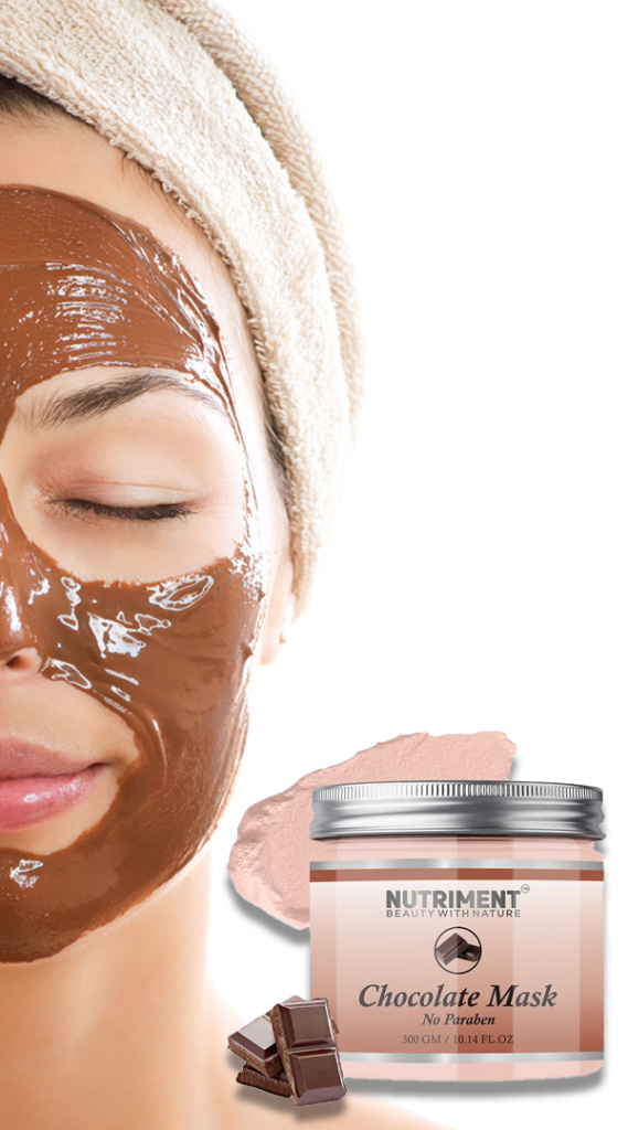 Chocolate mask for face
