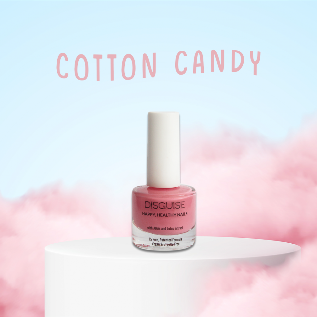 cotton candy nail paint by Disguise Cosmetics
