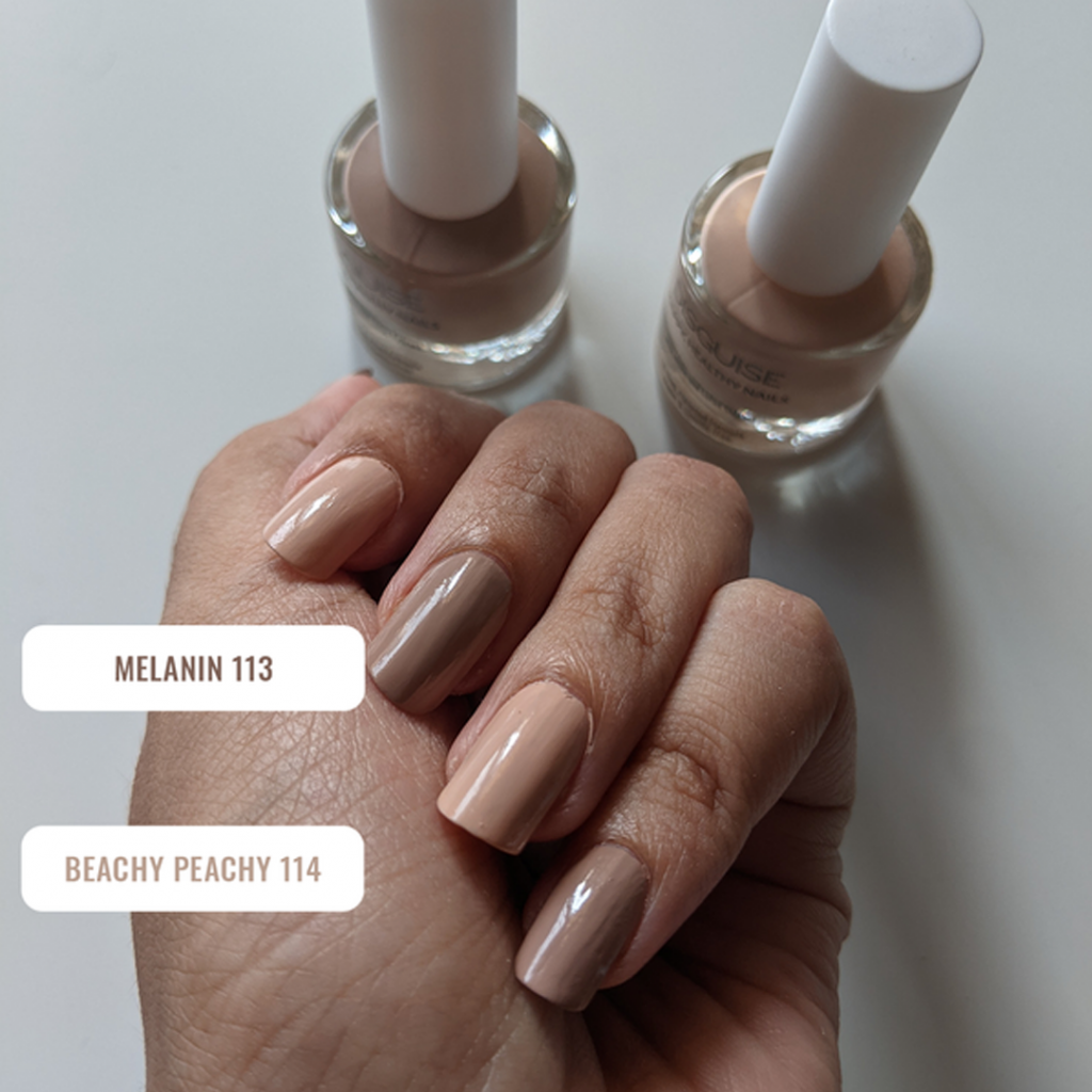 Nude colour nail paint by Disguise Cosmetics