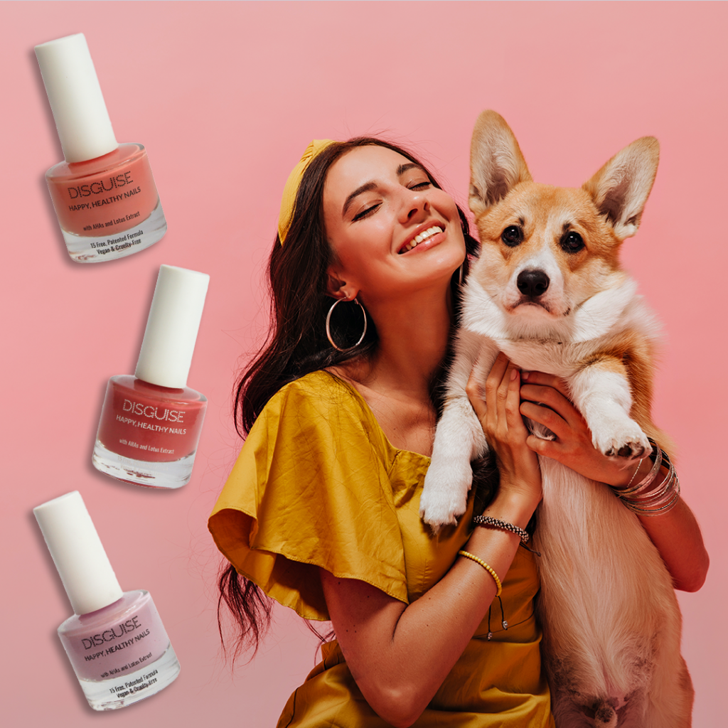 Vegan, cruelty free nail paint by Disguise Cosmetics