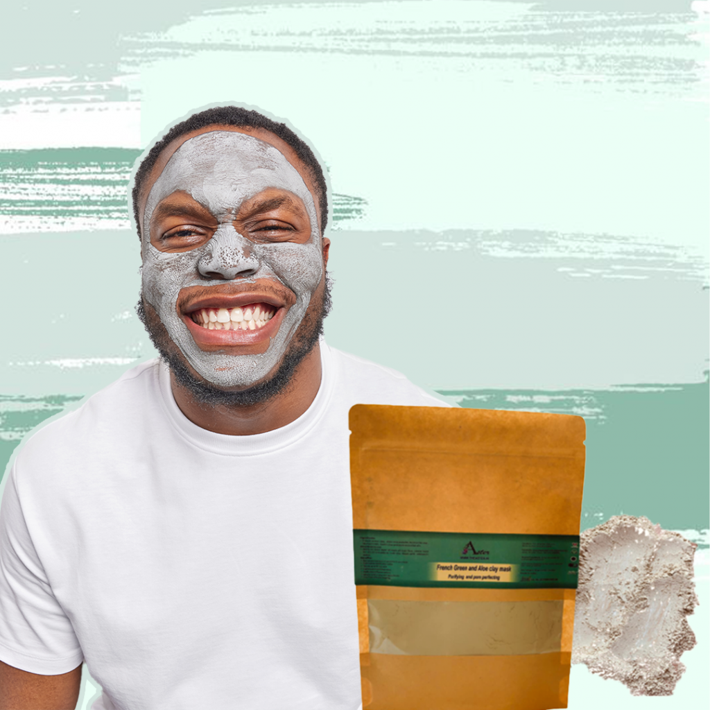 Aster French Green Clay Mask