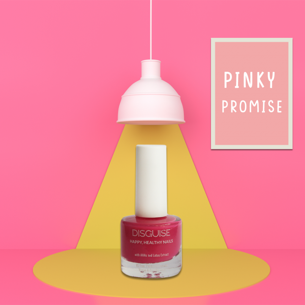 Pinky Promise nail paint by Disguise Cosmetics