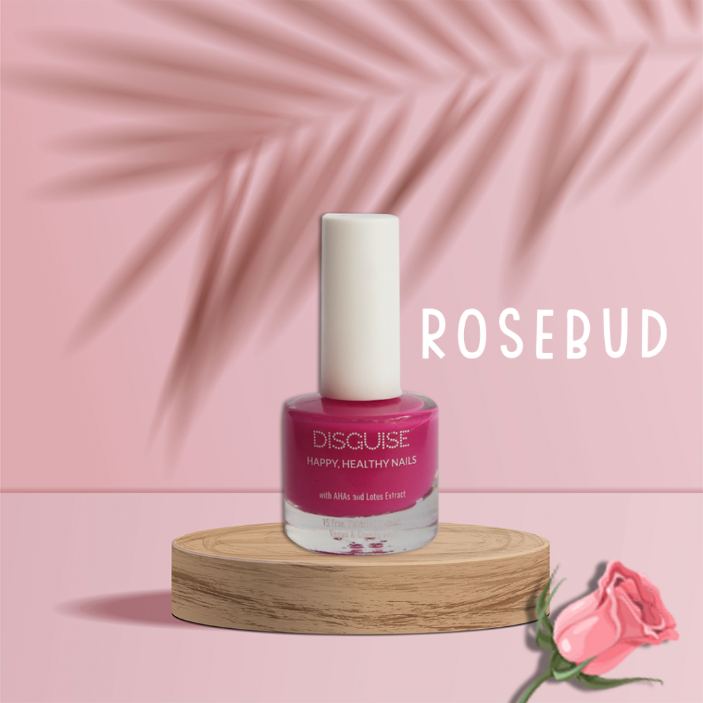 Rosebud nail paint by Disguise Cosmetics